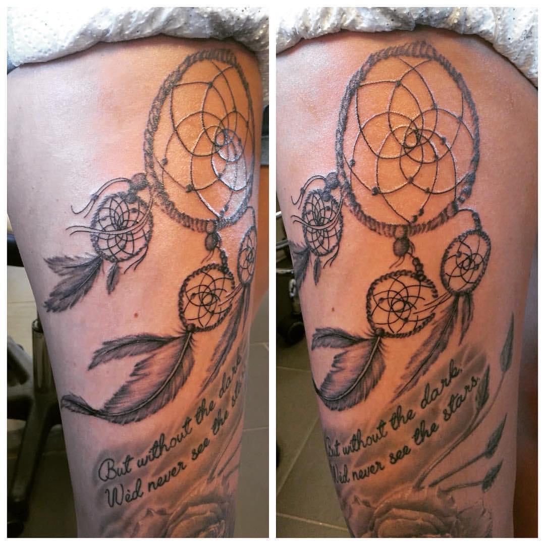 optegning af tatovering
